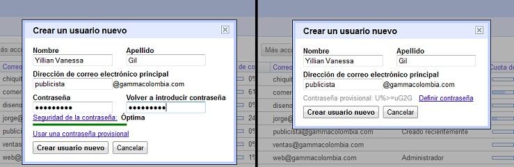 crear un nuevo usuario